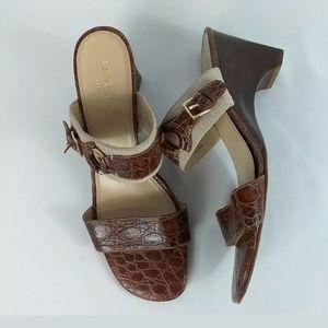 6a93ae97d16ade Liz Claiborne Sheffield Open Toe Sandals 9.5